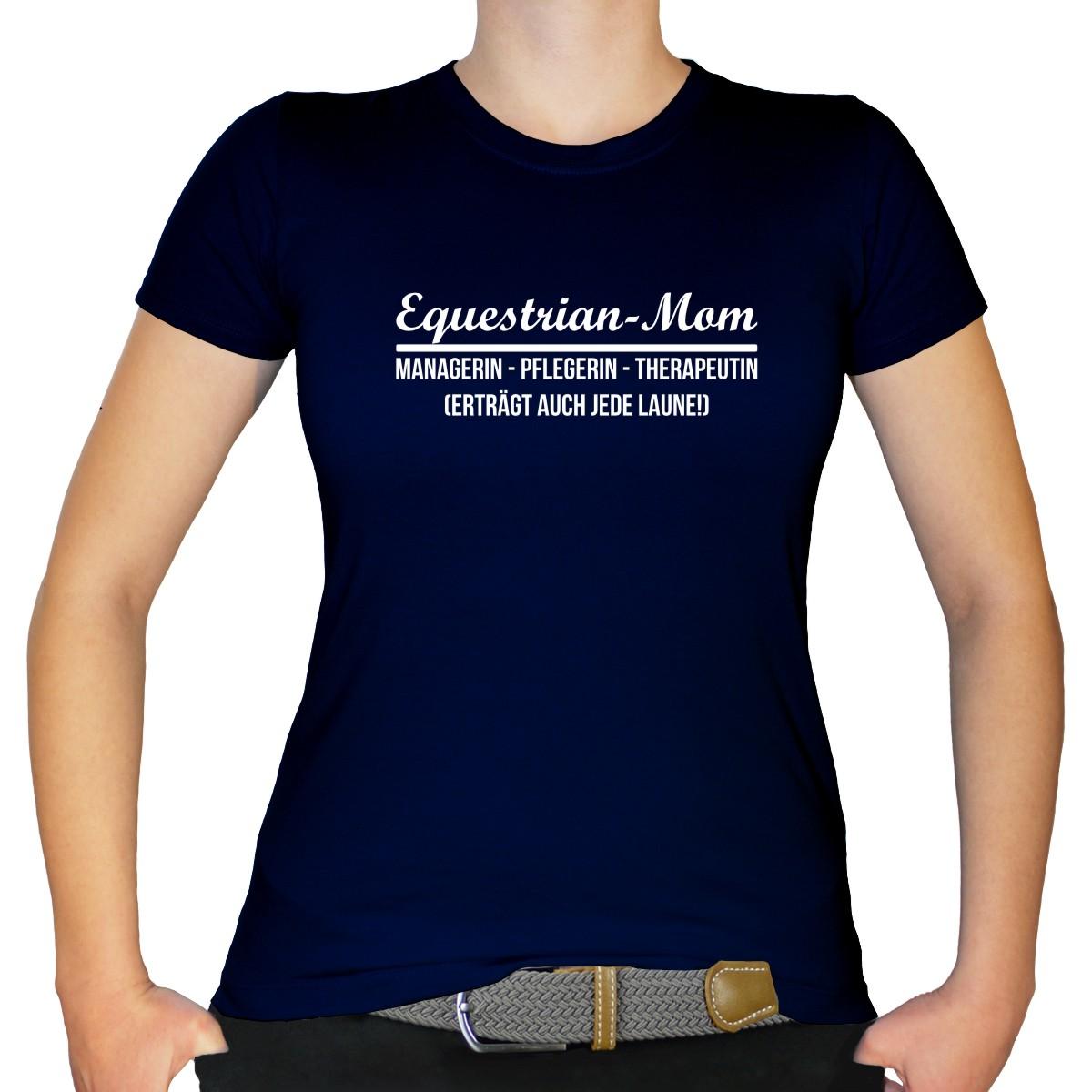 CAVALIMA Statement T-Shirt EQUESTRIAN MOM